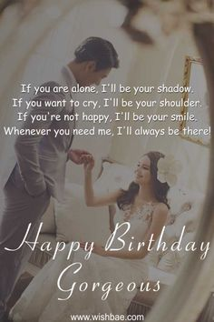 Celebrate the special day of your bae with these cute and romantic happy birthday wishes for girlfriend. We've the most exclusive and unique birthday wishes to send to your girlfriend and make her smile than never before. Happy Birthday Quotes For Her, Birthday Quotes For Girlfriend, Romantic Birthday Wishes, Birthday Wishes For Girlfriend, Message For Girlfriend, Birthday Wishes And Images, Best Birthday Wishes, Birthday Messages, Birthday Gifts