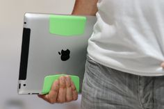 Magbak is the world's thinnest mount for iPad. It inherently mounts to most metal surfaces without adding any significant bulk or thickness. New Technology Gadgets, Cool Technology, Geek Gadgets, Gadgets And Gizmos, Ipad Mount, Laser Printer, Toner Cartridge, One Design, Phone Accessories