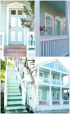 ::: FOCAL POINT :::: KEY WEST: COLOR BLOCKS BLUE BY YOU