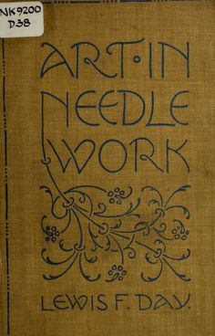"""Art In Needle Work"" (1900) - Online Vintage Instruction Book"