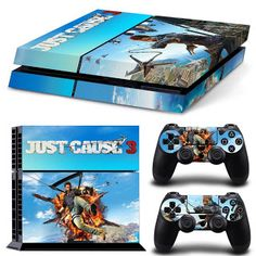 filme jocuri noutati: GOOOD Designer Skin Decal for PlayStation 4 Co. Playstation 4 Console, Ps4, Just Cause 3, Cool Things To Buy, Decals, Design, Sony, Games, Movies