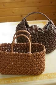 「エコクラフト、石畳編み,作り方」の画像検索結果