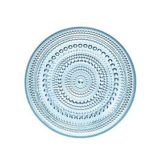 Kastehelmi Plate Small Blue, $20, now featured on Fab.