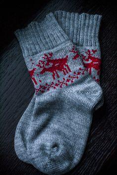 Socks with deers