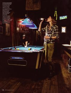 Cause this is the way to start the night.   Play pool....and playin the jukebox :)