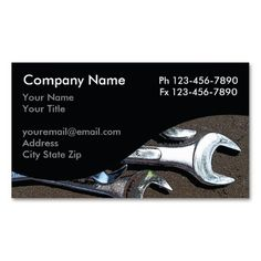 mechanic business cards - Auto Repair Business Cards