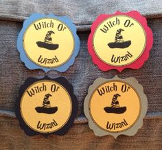 Harry Potter Gender Reveal Tags by WinnJDesigns on Etsy