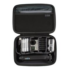 GoPro Casey Etui de transport protectif pour GoPro Hero 4/Accessoires Noir