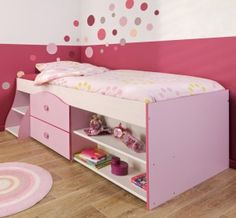 Twin Storage Bed - Would love to find a tutorial for this! There is never enough space in a teens room!