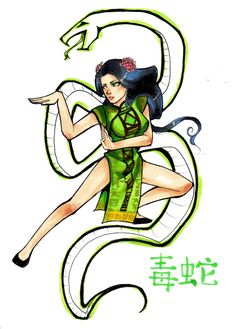 Viper- Kung Fu Panda by Glory-Day.deviantart.com on @DeviantArt