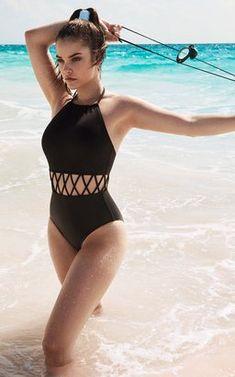 Barbara Palvin, Hungarian model for Swim Team Barbara One Piece Women's Plus Size Swimwear, Trendy Swimwear, Cute Swimsuits, Cute Bikinis, One Piece Swimwear, Swimwear Fashion, Bikini Fashion, 1 Piece Swimsuit, Women Swimsuits