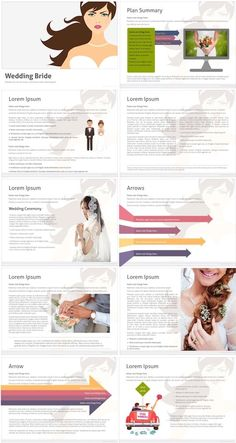 Marriage bride PowerPoint template is perfect for wonderful and elegant marriage ceremony demonstrations. It might be also beneficial for Fashion & Style presentations. #Powerpoint #ppt #wedding #template #presentation #slides #free Powerpoint Themes, Creative Powerpoint Templates, Elegant Wedding, Wedding Bride, Presentation Slides, Marriage, Free, Color, Style