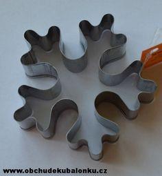Vykrajovačka na perníčky vločka nová 7,5 cm