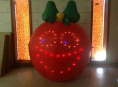 Gemmy Prototype Airblown Inflatable Christmas Singing Ornament w Sound 87750 | eBay