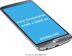 Add your mobile app screenshot image to an iPhone frame, iPad frame or Android device frame. Lg G3, Mobile App, Mockup, Frames, Samsung, Website, Iphone, Image, Sam Son