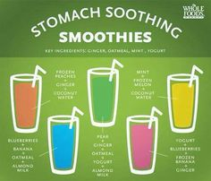 Stomach Soothing Smoothies