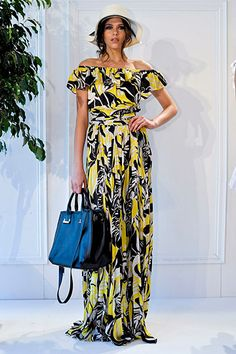 Rachel Zoe Spring 2012 (I have a dress like this from Hawaii)