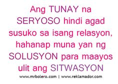 Essay about love tagalog version of bible Essay About Love Tagalog Version. With strong presence of over 15 years in the custom-writing industry, Superior Papers is one of the most reliable services on this. Filipino Quotes, Pinoy Quotes, Tagalog Love Quotes, Memes Pinoy, Love Sayings, Love Quotes Funny, Love Quotes For Her, Emo Quotes, Truth Quotes