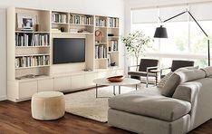 Keaton Bookcases Living Room - Living - Room & Board