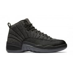 best service 3f7bd d21a5 Air Jordan 12 Wool Release Date. The Wool Air Jordan 12 features a Dark  Grey, Metallic Silver and Black color scheme. The Air Jordan 12 Wool  release date is