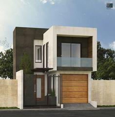 Remodelación Fachada Contemporánea Propuesta #2  #Arquitecturacontemporanea…