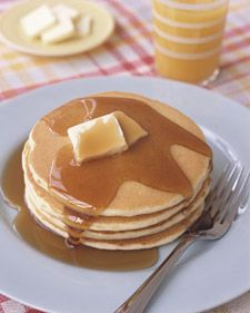 Since pancakes take only a few minutes to cook, the first batch can be ready in no time for hungry cooks to sample, or kept warm in the oven until the sleepyheads arise.