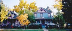 Luxurious B&B Lodging in Colorado Springs near Manitou Springs CO is at Holden House 1902 Bed & Breakfast Inn