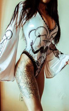 .Toxic Vision bodysuit