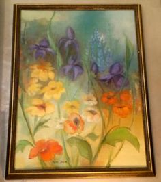 Beautiful Floral Painting Signed   $98  Grace Designs Booth #333  City View Antique Mall  6830 Walling Lane Dallas, TX 75231  Read more: http://dallas.ebayclassifieds.com/home-decor/dallas/beautiful-floral-painting-signed/?ad=38585186#ixzz3XLlCItsK
