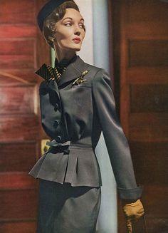 August Vogue 1949 by dovima_is_devine_II, via Flickr