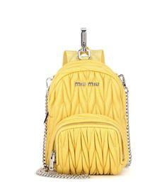 mytheresa.com - Sac à bandoulière en cuir matelassé - Luxe et Mode pour femme - Vêtements, chaussures et sacs de créateurs internationaux