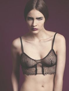 ELISE AUCOUTURIER's New Winter Collection | Black Flower  #lingerie #bra #winter #new #collection #lace