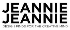 Jeannie  Jeannie  design finds for the creative mind