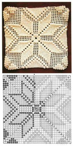 Transcendent Crochet a Solid Granny Square Ideas. Inconceivable Crochet a Solid Granny Square Ideas. Crochet Bedspread Pattern, Granny Square Crochet Pattern, Crochet Diagram, Crochet Squares, Crochet Motif, Crochet Designs, Crochet Doilies, Free Crochet