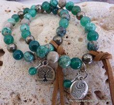 Joy & Love Bracelet - Inspirational handmade gemstone jewellery Earth Jewel Creations Australia