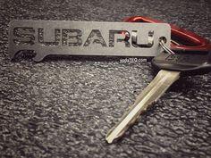 SUBARU - Onyx Keychain Bottle Opener