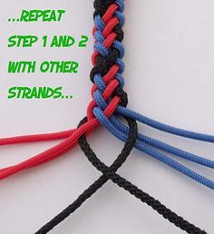 8 Plait Round Knot, by Fred CreativeKnots