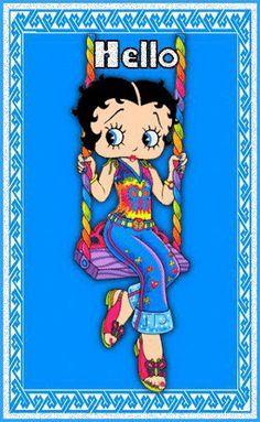 Betty Boop ~ Hippie Girl