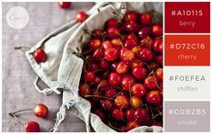Wintery Reds - Color makes a design come alive.