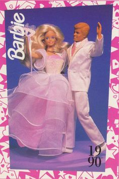 1991 Mattel Barbie Trading Card 93 1990 Dance Magic Barbie Ken | eBay