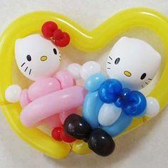 Hello Kitty and Dear Daniel balloons