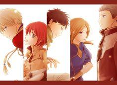 Akagami no Shirayukihime - Zen and Shirayuki #manga #anime Obi-Mitsuhide-Kiki