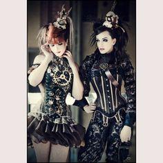 Posts about Steampunk written by Rincewind Steampunk Couture, Chat Steampunk, Style Steampunk, Steampunk Cosplay, Gothic Steampunk, Steampunk Fashion, Steampunk Makeup, Steampunk Outfits, Steampunk Dress