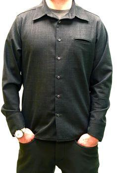 7e24e32e2 4-Season Commutist Wool Shirt – Mens Commuter Pants