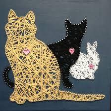 Billedresultat for string art