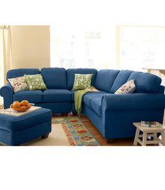 Sectional Sleeper Sofa Ultralight Comfort Sectional Three Piece Set Fabric Sofas at L L Bean