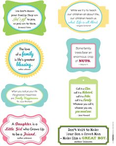 Family Quotes to use on your scrapbook layouts   Creating Keepsakes Blog