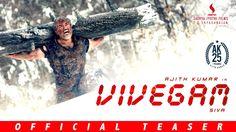 Vivegam - Official Teaser | Ajith Kumar, Vivek Oberoi, Kajal, Akshara | ...