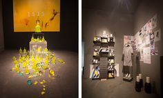 Andrea Maack installation at the Unscent event in Milan