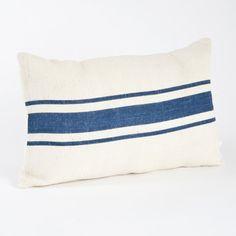 Beachcrest Home Striped Design Jute Throw Pillow & Reviews | Wayfair